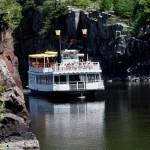 River boat excursion