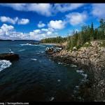 Rocky Lakeshore. Isle Royale National Park, Michigan, USA.